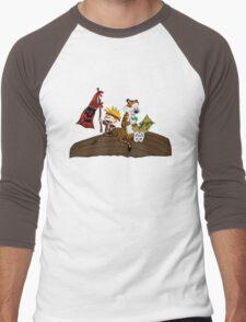 Calvin and Hobbes Adventure Men's Baseball ¾ T-Shirt