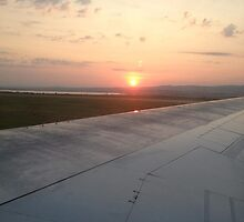 Wing View by aketton