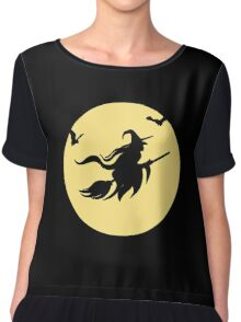 Halloween witch Chiffon Top