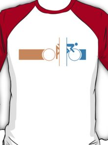 Bike Stripes Portal T-Shirt