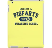 Starkid: Pigfarts wizarding school (blue) iPad Case/Skin