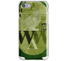 Owls are wise iPhone Case/Skin