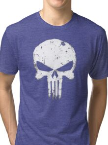 punisher Skull Tri-blend T-Shirt