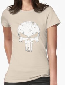 punisher Skull Womens Fitted T-Shirt
