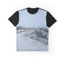 Gullfoss Iceland Graphic T-Shirt