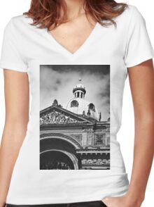 Birmingham Council House Women's Fitted V-Neck T-Shirt