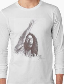 Marley, pen on paper Long Sleeve T-Shirt