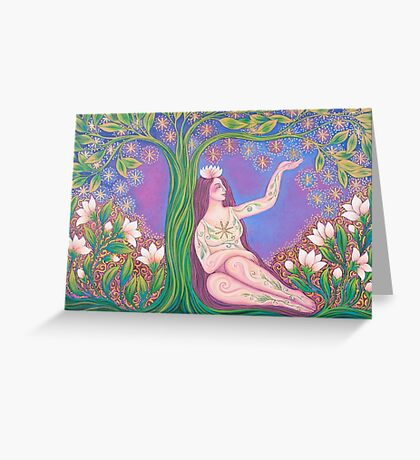 The stars are Inside me Greeting Card