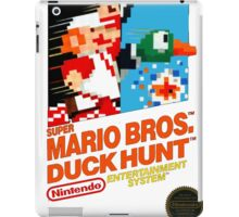 NES Super Mario Bros & Duck Hunt  iPad Case/Skin