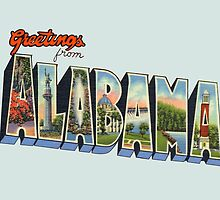 Greetings from Alabama by patrimonic