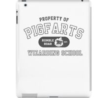 Starkid: Pigfarts wizarding school (grey) iPad Case/Skin