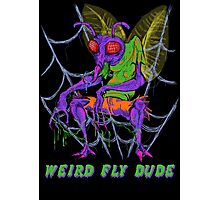 Weird Fly Dude Photographic Print