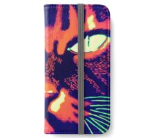 Psycho cat iPhone Wallet/Case/Skin