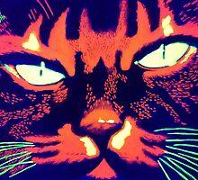 Psycho cat by Palomar78