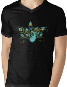 Just a Peacock - Tee Mens V-Neck T-Shirt