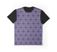 Haunted Mansion Wallpaper (Tile) Graphic T-Shirt