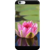 Water Lily (Pink) iPhone Case/Skin