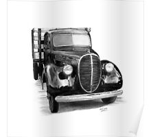 1939 Ford Pickup Truck Poster
