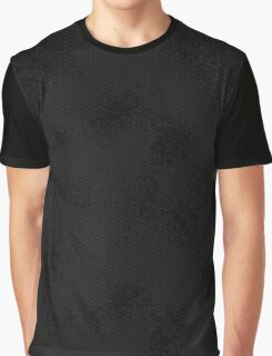 Black Snake Skin (Black Heart) Graphic T-Shirt