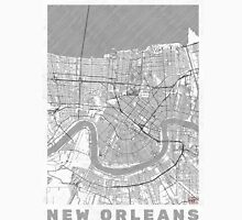 New Orleans Map Line Unisex T-Shirt
