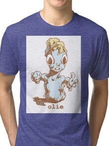 mr Olie, is a friendly guy...oh do you have food Tri-blend T-Shirt