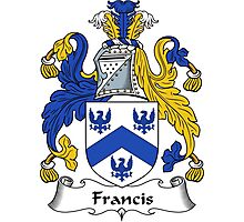 Francis Coat of Arms / Francis Family Crest Photographic Print