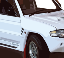 Urban Dakar Daily Driver Sticker