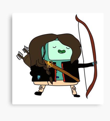 BMO Katniss  Canvas Print