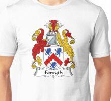 Forsyth Coat of Arms / Forsyth Family Crest Unisex T-Shirt