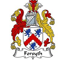 Forsyth Coat of Arms / Forsyth Family Crest Photographic Print