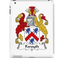 Forsyth Coat of Arms / Forsyth Family Crest iPad Case/Skin