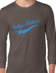 Indigo Plateau (blue) Long Sleeve T-Shirt