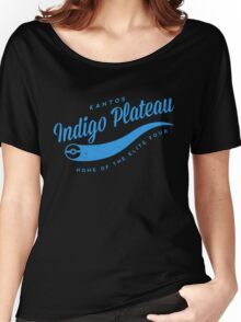 Indigo Plateau (blue) Women's Relaxed Fit T-Shirt