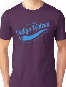 Indigo Plateau (blue) Unisex T-Shirt