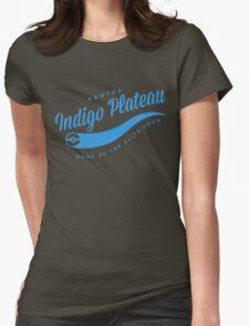 Indigo Plateau (blue) Womens Fitted T-Shirt