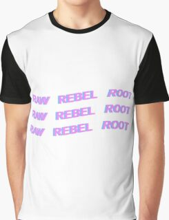 DEAN - KHIPHOP - RAW REBEL ROOT - PASTEL Graphic T-Shirt