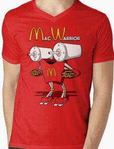 Mac Warrior Mens V-Neck T-Shirt