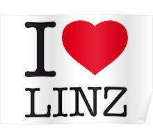 I ♥ LINZ Poster