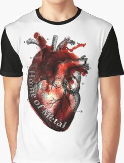 Heart of metal Graphic T-Shirt