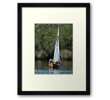 Learning the Ropes 2 Framed Print