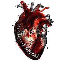 Heart of metal Photographic Print