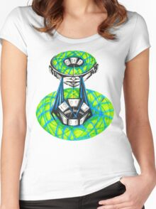 0101010101101011 Women's Fitted Scoop T-Shirt
