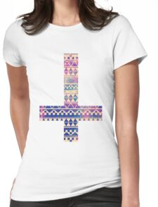 Aztec Anticross Womens Fitted T-Shirt