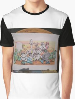 The Narlee Gang. 'Born, Bred, and Fed in Australia' Graphic T-Shirt