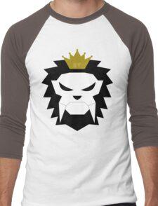 Sabre-toothed King Lion Skull - MulloIV Men's Baseball ¾ T-Shirt