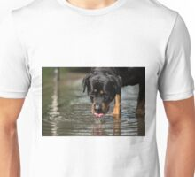 It's thirsty work being this handsome Unisex T-Shirt