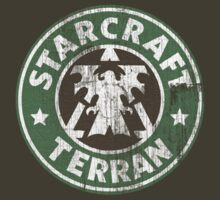 Starcraft Terran - Washed Starbucks style by Wipi Oly
