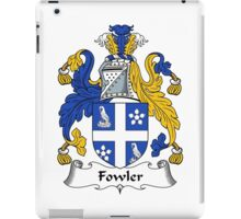Fowler Coat of Arms / Fowler Family Crest iPad Case/Skin
