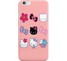 Hello Kitty - 9 Pack Sticker Set iPhone Case/Skin