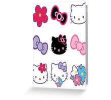 Hello Kitty - 9 Pack Sticker Set Greeting Card